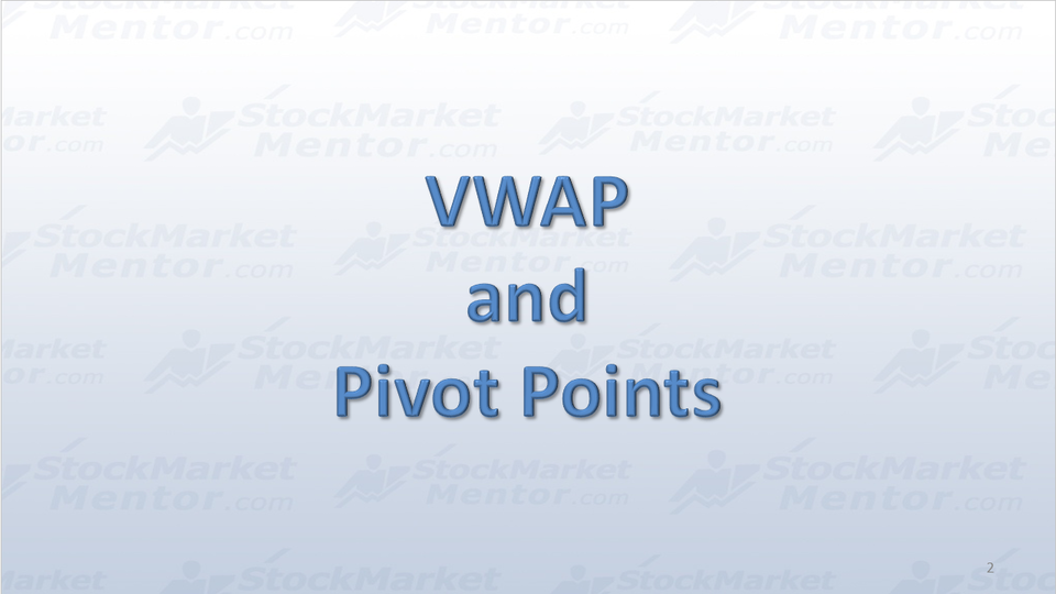 TUTORIAL-Volume Weighted Average Price (VWAP) and Pivot Points
